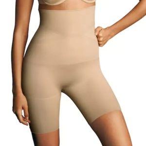 Maidenform High Waist Thigh Slimmer Brief Shorts